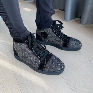 🔥Christian Louboutin Louis Strass Sneaker
